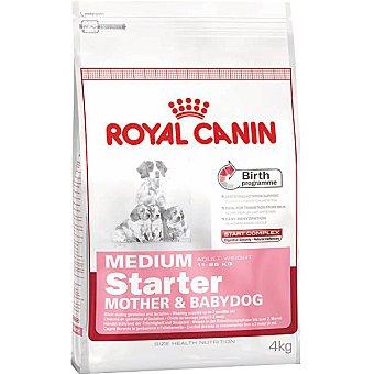 Royal Canin Producto especial para madres y cachorros de raza medium hasta los 2 meses Starter Bolsa 4 kg