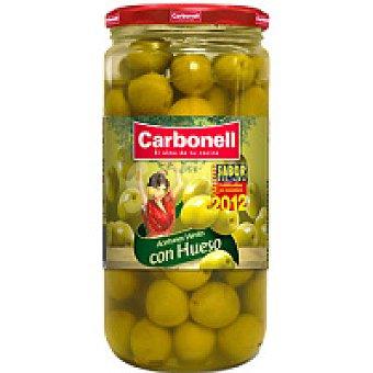 Carbonell Aceitunas de manzanilla enteras Frasco 400 g