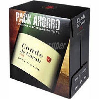 Conde de Caralt Cava Brut Nature Pack 6x75 cl