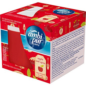 AmbiPur Ambientador vela perfumada Apple & Spice envase 1 unidad Envase 1 unidad