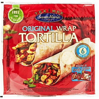 SANTA MARIA Tortilla wrap  Bolsa de 371 g