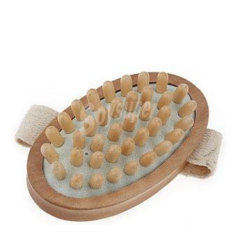 Aldo Vandini Cepillo masaje puas gruesas madera 1 ud