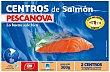 Centros de salmon Estuche 300 g neto escurrido Pescanova