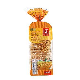 DIA pan de molde rústico Bolsa 600 gr