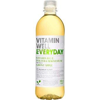 Vitamin well everyday bebida refrescante vitaminada sabor manzana verde ayuda a regular el metabolismo botella 50 cl botella 50 cl