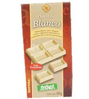Santiveri Tableta chocolate blanco 80 g