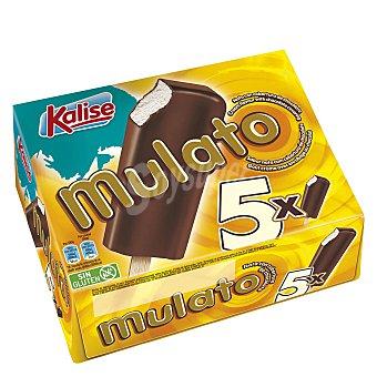 Kalise Bombón helado vainilla/chocolate sin gluten 5 ud