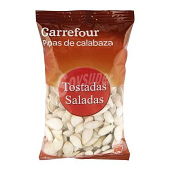 Carrefour Pipas de calabaza tostadas y saladas Carrefour 125 g