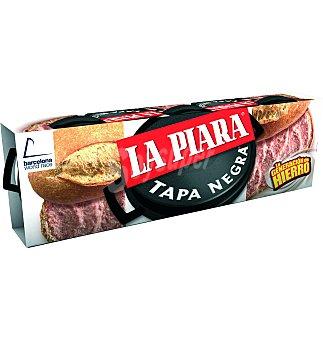 La Piara Foie gras lote 3 UNI 240 GRS