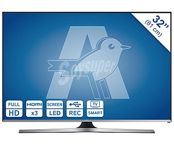 "SAMSUNG 32J5500 Televisión 32"" Full HD, smart TV, wifi, TDT HD, USB reproductor y grabador, hdmi, 400HZ. Televisor de mediano formato"