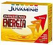 Complemento alimenticio de ginseng, guaraná y mate. Tonificante físico y cerebral 10 c Juvamine
