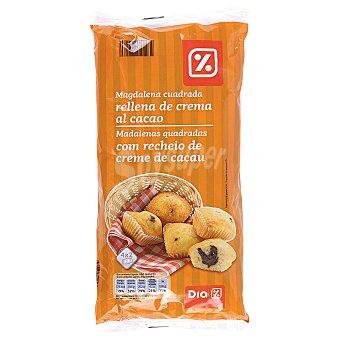 DIA Magdalena rellena con cacao envasadas individualmente Bolsa 336 gr