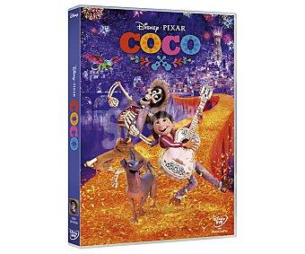 Disney Coco, 2017. Película en Dvd. Género: infantil, fantástico, animación, comedia. Edad: +6 años.