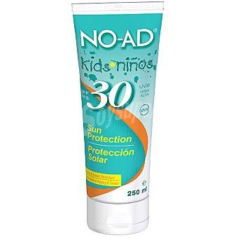 NO-AD Protector solar Kids niños FP-30 hipoalergenico tubo 250 ml