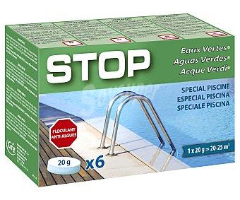 Spool Recuperador de aguas verdes en formato pastillas de 20 G 120 g