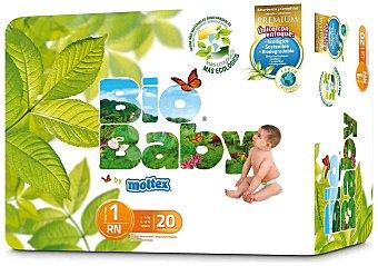Moltex Moltex Pañales Bio Baby Talla 1 (3-6Kg) 20 ud
