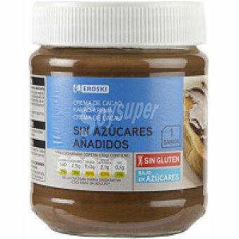 Eroski Crema de cacao sin azúcar 1 sabor Bote 300 g