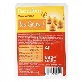 Carrefour Magdalenas No gluten sin gluten 88 G 88 g