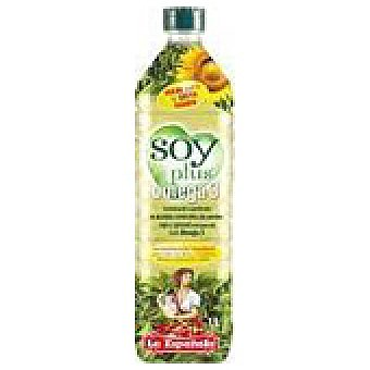 La Española Aceite Soy Plus Omega 3 Botella 1 l