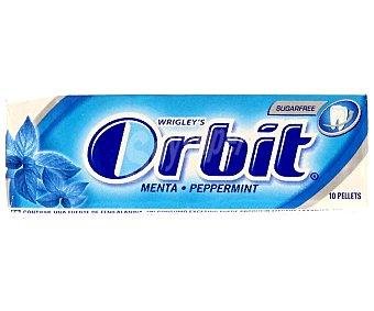 Orbit Chicle sin azúcar sabor peppermint 1 ud