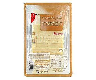 Producto Alcampo Queso Maasdam en lonchas 200 g
