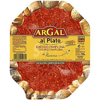 Argal Plato de chorizo Pamplona Bandeja 75 g