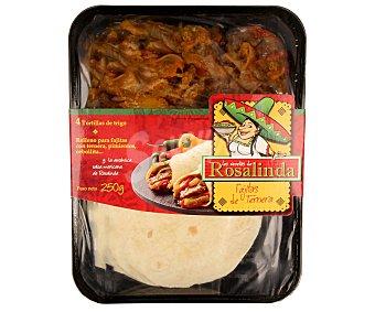 Ta Tung Fajitas de carne 250 gramos
