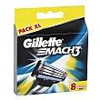 Recambios Gillette Mach3 8 unidades 8 ud Gillette
