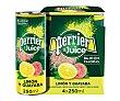 Bebida refrescante a base de agua con gas y zumo de limón y guayaba perier 4 uds.. X 250 ml. 4 uds. Perrier Nestlé