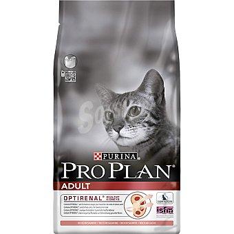 Pro Plan Purina Alimento para gato adulto especial para favorecer la salud renal con salmón Adult Optirenal  Bolsa 1,5 kg