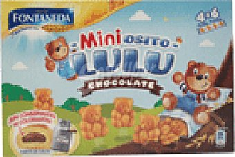 Fontaneda Mini galletitas de chocolate Osito Lulu 165 GRS