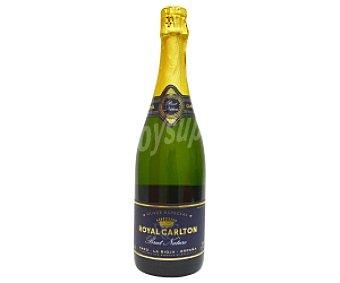 Royal Carlton Cava Espumosa Brut Nature Botella de 75 Centilitros