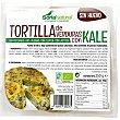 Tortilla de verduras con kale ecológica sin gluten, sin lactosa y sin huevo Paquete 235 g Soria Natural