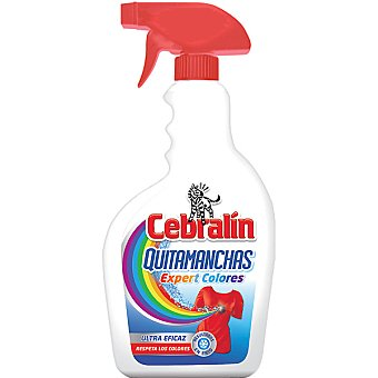 Cebralín Quitamanchas Expert Colores spray 500 ml respeta los colores Spray 500 ml