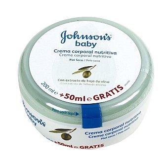 Johnson's Baby Crema corporal de oliva piel seca 200 ml