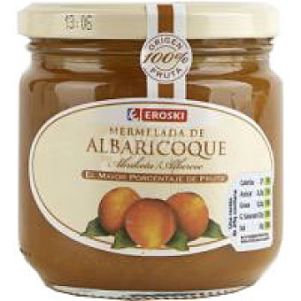 Eroski Mermelada de albaricoque 100% fruta Tarro 300 g