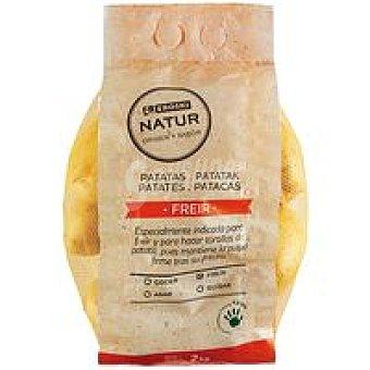 Eroski Natur Patata para freír Eroski Bolsa 2 kg