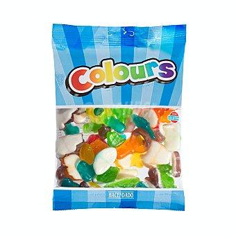 Hacendado Golosinas surtidas arco iris (colours) Paquete 250 g