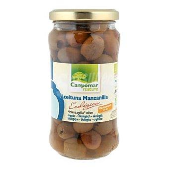 Campomar Nature Aceitunas manzanilla ecologicas sin hueso sabor natural 350 g peso neto (170 g escurrido)