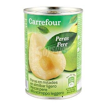 Carrefour Pera en almíbar extra 225 g