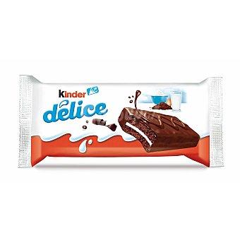 Kinder Bizcocho con cobertura de chocolate Délice Paquete 42 g