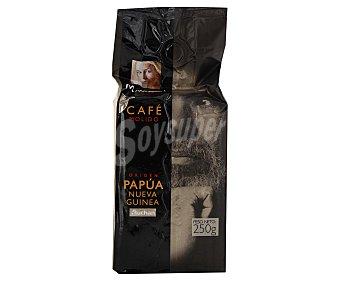 Mmm Auchan Café molido de origen Papua nueva Guinea 250 gramos