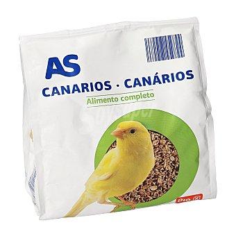 AS Alimento para canarios Bolsa 500 gr