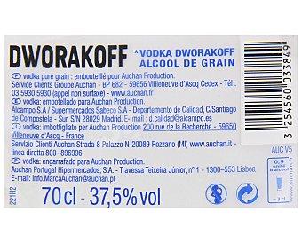 DWORAKOFF Vodka Botella de 70 centilitros
