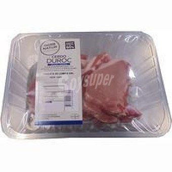 NATUR Duroc Chuleta lomo de cerdo Eroski Bandeja peso aprox.