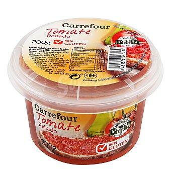 Carrefour Tomate rallado con aceite de oliva virgen extra Carrefour sin gluten 200 g