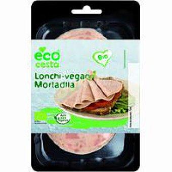 Ecocesta Lonchi-vegan de mortadella bio bandeja 100 g