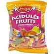Caramelo de frutas cristal bolsa 125 g Verquin
