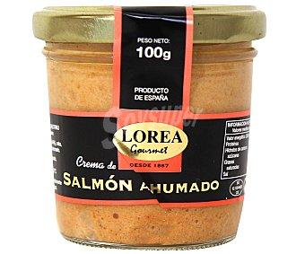 Lorea Crema para untar de salmón ahumado Tarro de 100 gramos