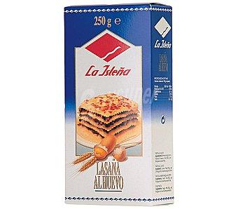 La Isleña Lasagna huevo 250 g